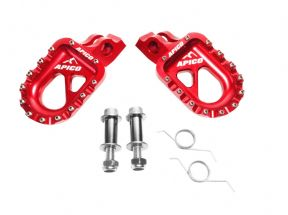 Apico Aluminium Trials Footpegs Footrests